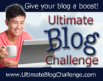 Ultimate Blog Challenge Banner
